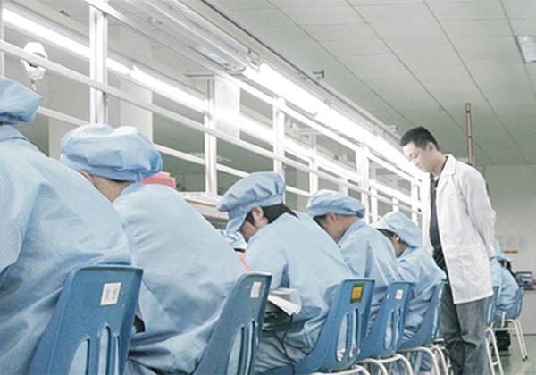 深圳工厂生产车间